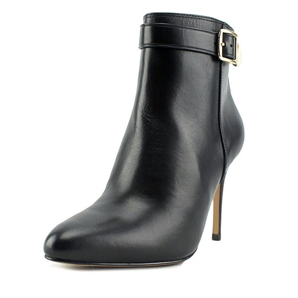 Coach Lenox Pointed Toe Leather Bootie