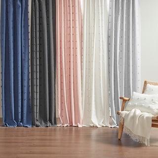 Link to Urban Habitat Maize Cotton Jacquard Rod Pocket Single Window Curtain Panel Similar Items in Decorative Accessories