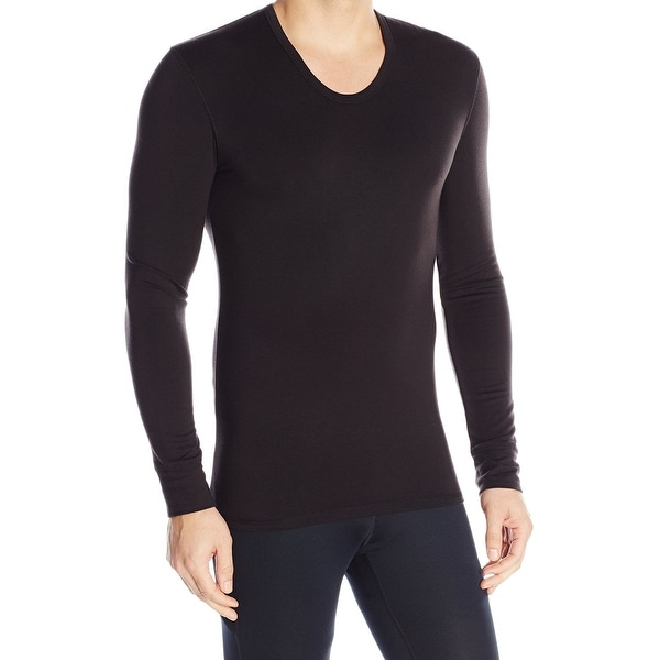 86ac09a26 Shop Calvin Klein NEW Men s Black Size Small S Solid Thermal Undershirt -  Free Shipping On Orders Over  45 - Overstock - 18692339
