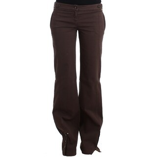 Galliano Brown wide leg cargo pants - it40-s
