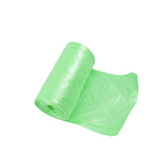 Unique Bargains Green Restaurants Home Rubbish Waste Garbage Bag Roll