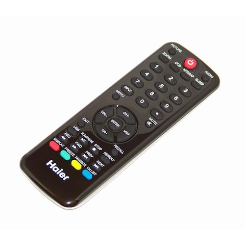 NEW OEM Haier Remote Control Originally Shipped With LE29F2320, LE50F2280