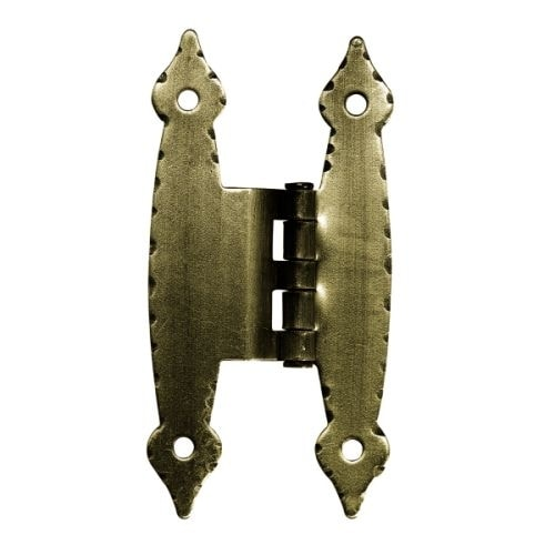 3/8 Inch Offset H Hinge (Set of 2)