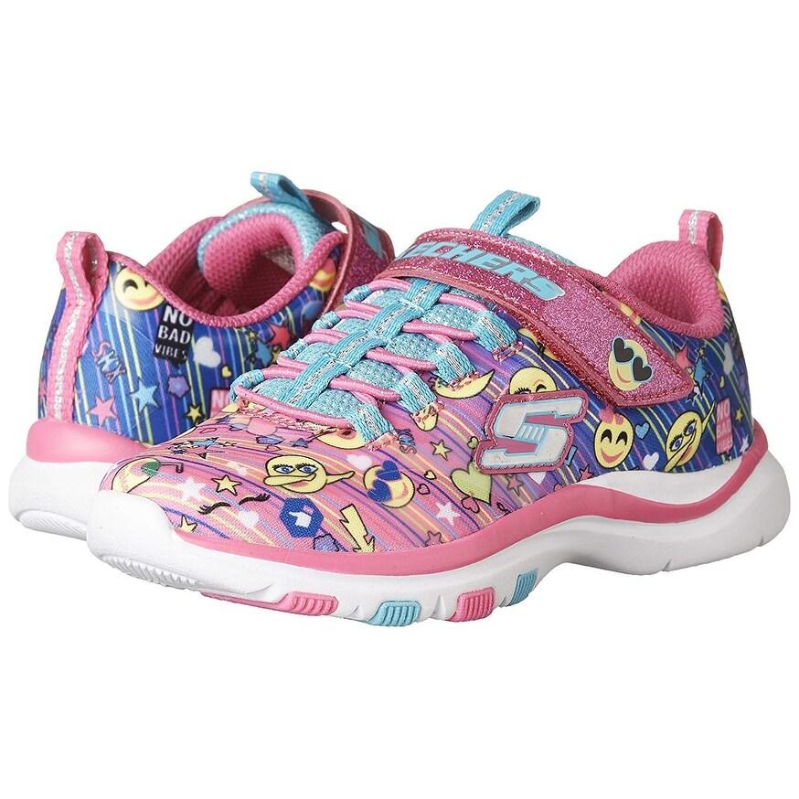 Skechers Trainer Lite Happy Dancer Girls Sneakers Multi 13