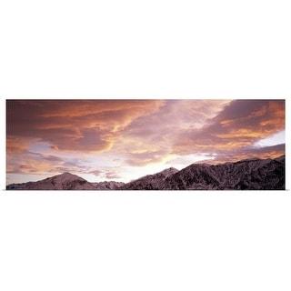 """California, Sierra Nevada, range"" Poster Print"