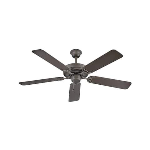 """Hinkley Propel Ceiling Fan - Metallic Matte Bronze - 52"""""""