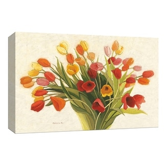 "PTM Images 9-153577  PTM Canvas Collection 8"" x 10"" - ""Spring Tulips"" Giclee Flowers Art Print on Canvas"