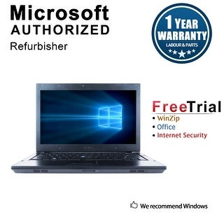 "Refurbished Dell Latitude E4310 13.3"" Laptop Intel Core i5 520M 2.4G 4G DDR3 160G DVD Win 7 Pro 64 1 Year Warranty - Black"