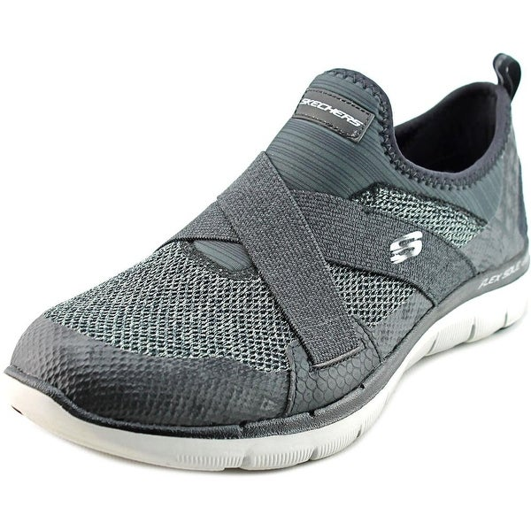 Skechers Flex Appeal 2.0-New Image Women Round Toe Synthetic Sneakers