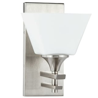 "Park Harbor PHVL2231 McBryde 10"" Tall Single Light Bathroom Fixture"