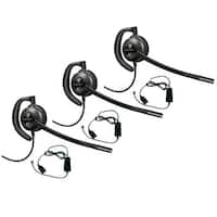 Plantronics EncorePro HW530 with A10 (3-pack) Over-the-Ear Mono Corded Headset