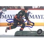 Paul Mara Phoenix Coyotes 2002 Upper Deck Autographed Card This item comes with a certificate of a