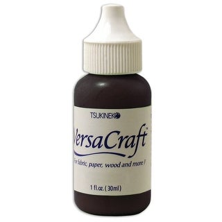 Versacraft Ink Refill 1Oz-Real Black
