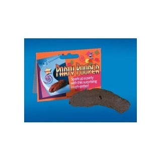 Loftus Gross Party Pooper Fake Poo Toy, Brown, 4 inches