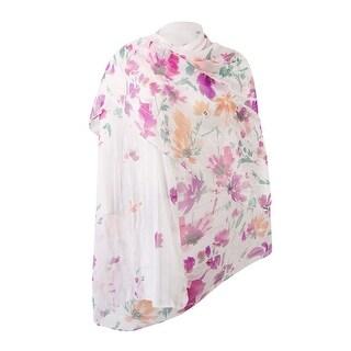 INC International Women's Degrade Floral Wrap - os