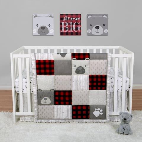 Up North 4 Piece Crib Bedding Set