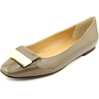 Vaneli Jalo N/S Round Toe Synthetic Flats
