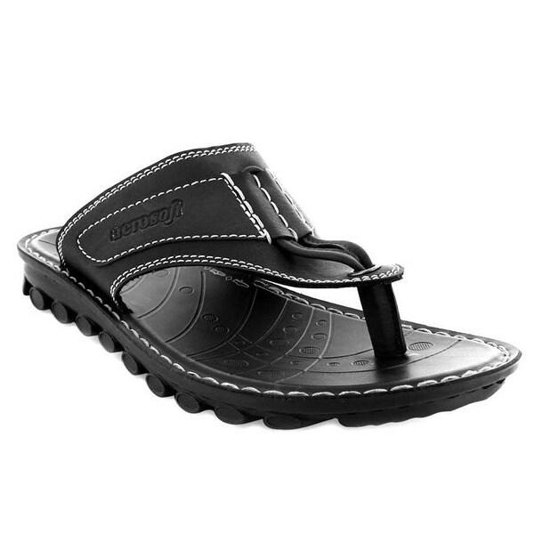 c8f57a17fd9 Shop Aerosoft Footwear Tranformer Men Sandals - Black