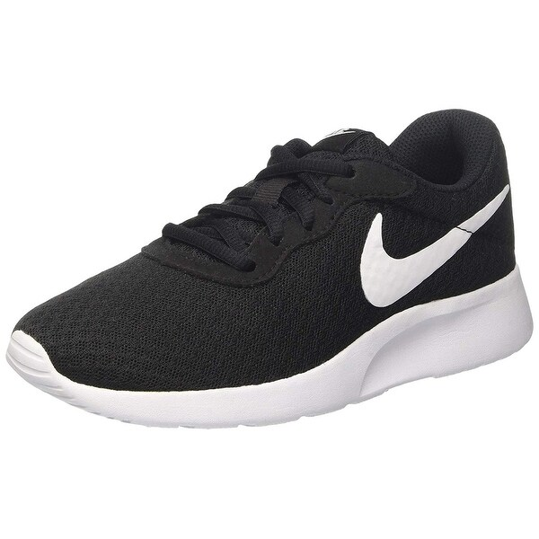 3dfc0a25097 Shop Nike Women's Tanjun Black/White Size 5 B(M) Us - Free Shipping ...