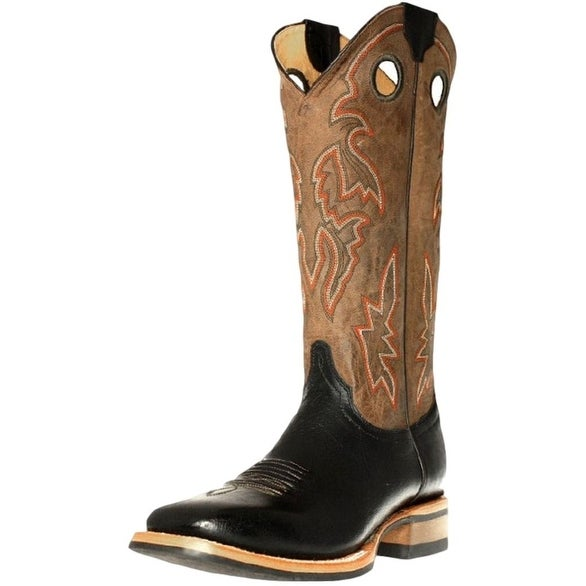 Cinch Western Boots Mens Cowboy Square EverSole Turin Black