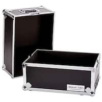 YCS TBHLPHWE Fly Drive Case for Medium Case Holds 100 LP with Wheels