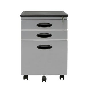Offex File Cabinet - Silver