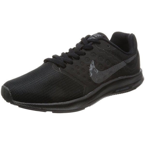 c7bd4cc52aa8 Nike Women  x27 s Downshifter 7 Black Mtlc Hematite Anthracite Running Shoe
