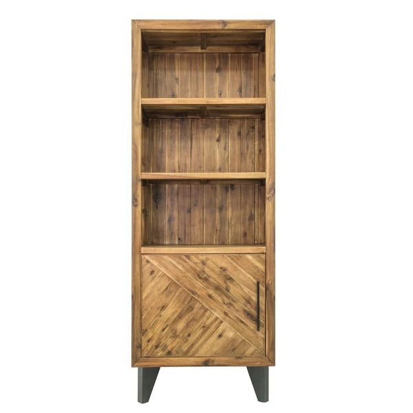 Moes Home Collection TL-1025 Parq 28 Inch Wide Acacia Wood