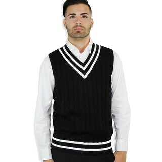 Men's Cable Cricket Vest