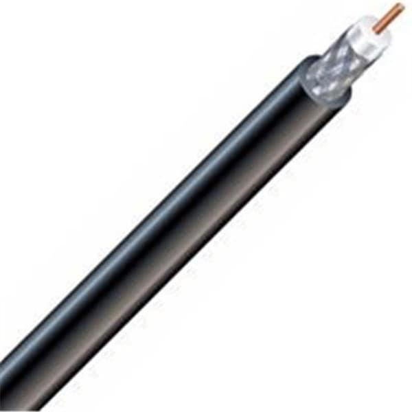 56918241 Rg6U Coax Cable, Black - 500 ft.