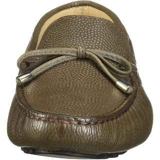 Link to Driver Club USA Women's Leather Made in Brazil Natucket Driver Loafer Similar Items in Golf Shoes