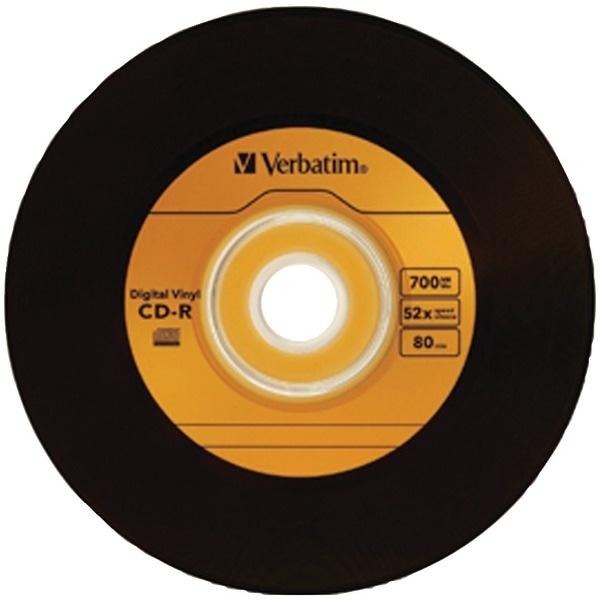 Verbatim 97935 700Mb 80-Minute Digital Vinyl Cd-R(R), 10 Pk