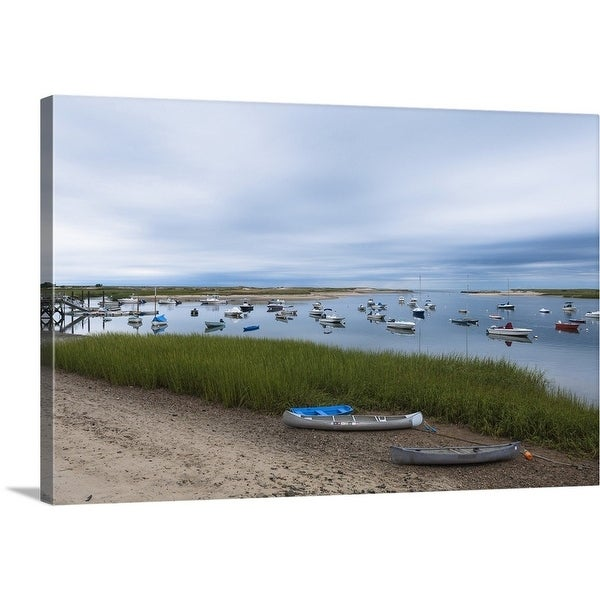 Boat Sales Cape Cod: Shop Premium Thick-Wrap Canvas Entitled Boats In Pamet