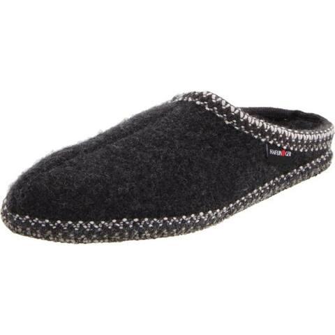 Haflinger Womens Clog Slippers Wool Slip On