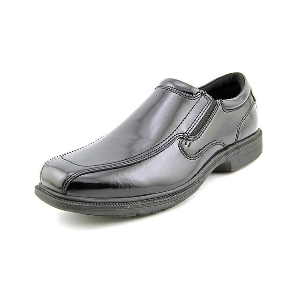 Nunn Bush Bleeker St Men W Square Toe Leather Black Loafer