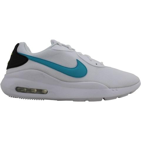 Nike Air Max Oketo White/Oracle Aqua-Black AQ2235-106 Men's