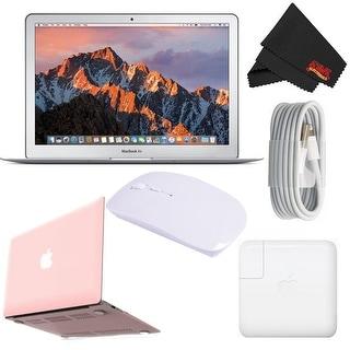 Apple 13.3 MacBook Air 128GB SSD Starter Bundle Rose Pink