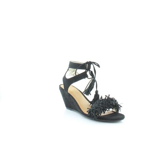 Matterial Girl Haniya Women's Sandals & Flip Flops Black