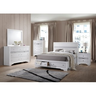 Link to Best Quality Furniture Catherine and David 5 Piece Bedroom Set Similar Items in Bedroom Furniture