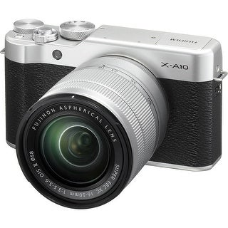 Fujifilm X-A10 Mirrorless Digital Camera with 16-50mm Lens (International Model)