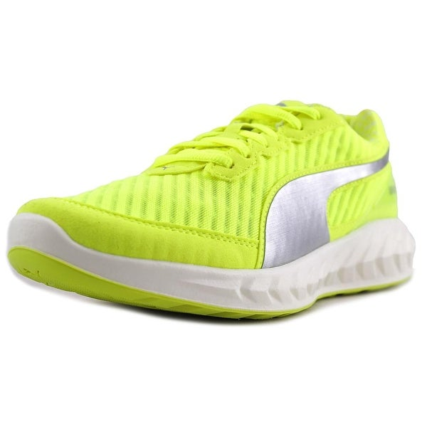 Puma Ignite Ultimate Pwrcool Women Round Toe Synthetic Yellow Sneakers