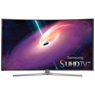 Samsung UN48JS9000FXZA JS9000 9-Series 48-inch Curved Smart LED 3D TV w/ 4 HDMI Inputs