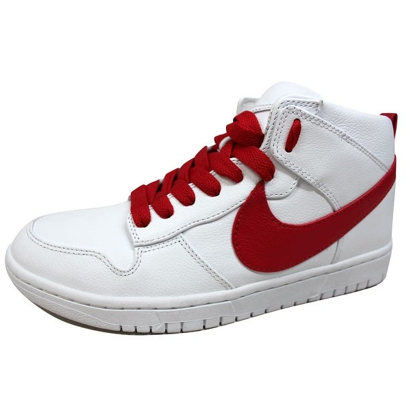 15a298e8b62c Shop Nike Men s Dunk Lux Chukka RT White Distance Red Riccardo Tisci ...