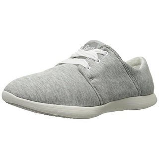 G.H. Bass & Co. Womens Skyler Heathered Ortholite Fashion Sneakers