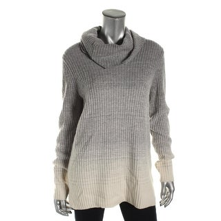 Theory Womens Madalinda Pullover Sweater Ombre Ribbed