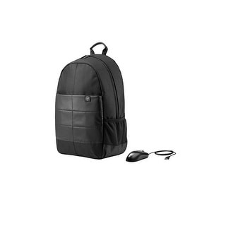Hp Consumer - 1Fk04aa#Abl - 15.6 Classic Backpack & Mouse