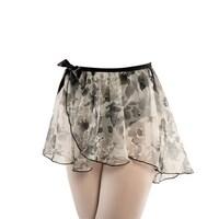 ff5569071f6a Shop Danshuz Little Girls Black Sleeveless Georgette Skirt Classic ...