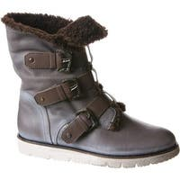 OTBT Women's Black Jack Boot Dust Grey Leather