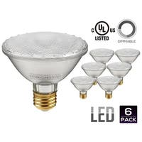 PAR30S LED Light Bulb, 11W (75W Equivalent), 2700K Soft White/5000K Daylight, Spot Light