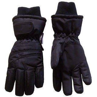 NICE CAPS Kids Bulky Thinsulate and Waterproof Ski Glove With Ridges